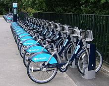 Hiring a bike London