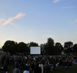 Outdoor films London