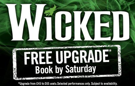Cheap Tickets to Wicked