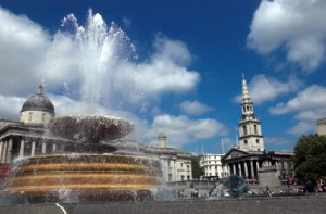Celebrations in Trafalger Square