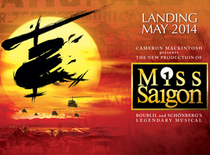 Tickets to Miss Saigon